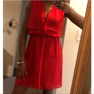 H&M red dress NWT